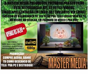 Retrospectiva-faça A Sua Do Seu Filho!linda Em 3d+promoção!
