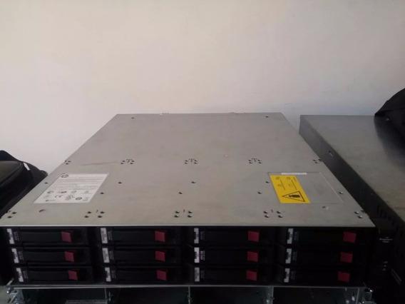 Storage Hp Msa P2000 G3 Sas Msa2000 + 12 Discos 2tb Hp Novos