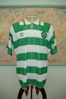 Camisa Futebol Celtic Glasgow Escocia Antiga Umbro 242