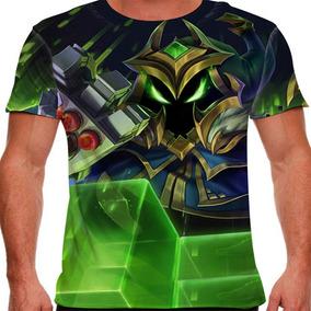 Camiseta League Of Legends Veigar Chefão Final Masculina