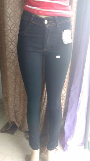 Calça Jeans Feminina Cintura Alta + Frete Grátis