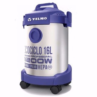 Aspiradora Yelmo Profesional As-3314 Hepa Agua Y Polvo 16lts