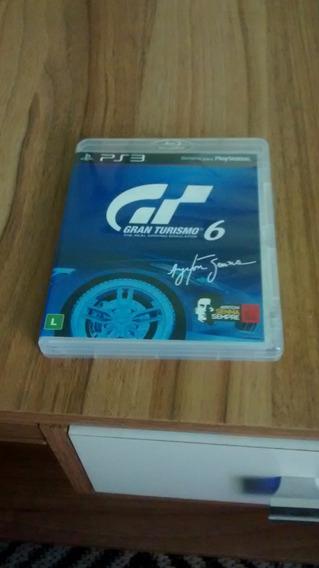 Jogo Granturismo 6 Com A Dlc Do Ayrton Senna !!! Ps3