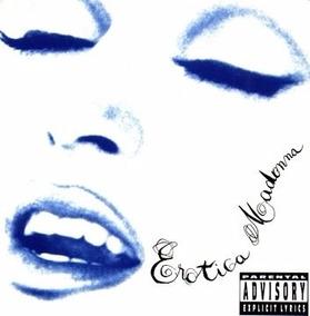 Cd Madonna Erótica Lacrado.
