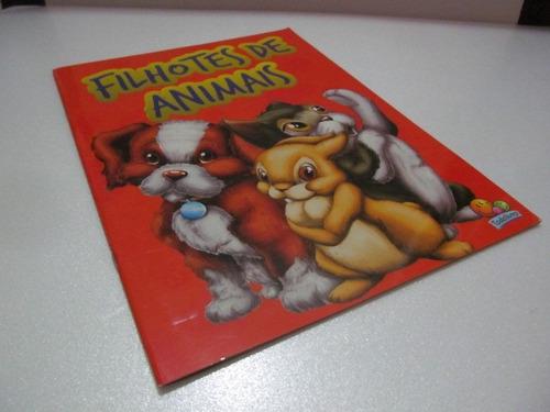 Livro  Filhotes De Animais Todo Livro  Arte Som Exc Estado