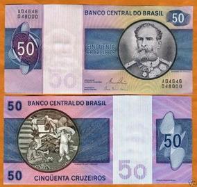 Brasil 50 Cruzeiros C144 Fe Cédula - Tchequito