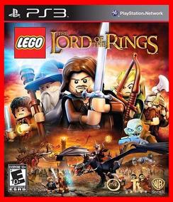 Lego Senhor Dos Aneis Ps3 Psn Portugues Br Promocao