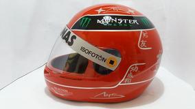 Capacete Senna -schumacher 2012 Personalizado Casco Fly