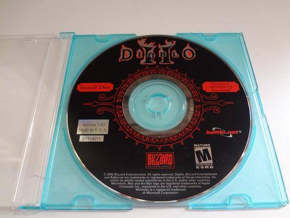 Disco De Instalação Do Jogo Diablo Ii 2 Para Pc Cd-rom