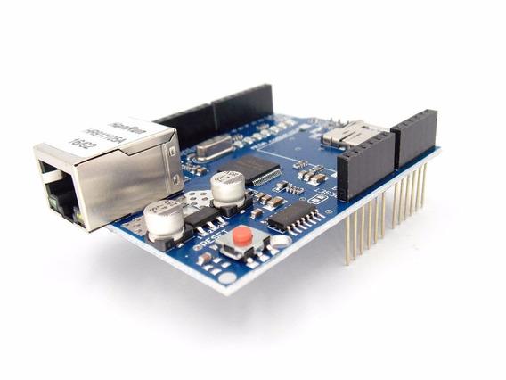 Arduino Ethernet Shield W5100 Rede Wiznet Nano Uno R3 Mega