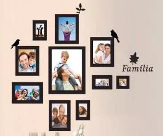 Adesivo Parede Árvore Genealógica Porta Retrato Família