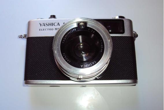 Camera Fotográfica Yashica Electro M5 + Lente E Case Leia An