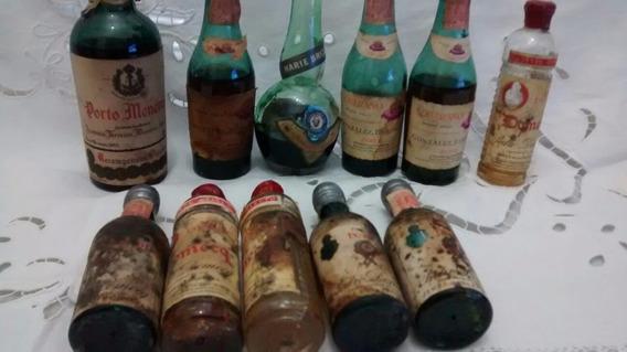 Botellitas De Aperitivos Antiguas
