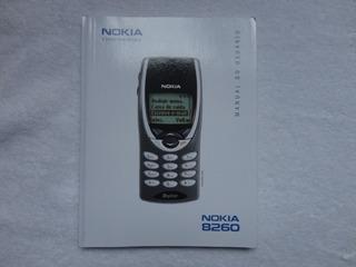 Manual Celular Nokia 8260