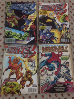 Hq Lote Marvel 97 E Super Almanaque Marvel Ed.abril R$37,99
