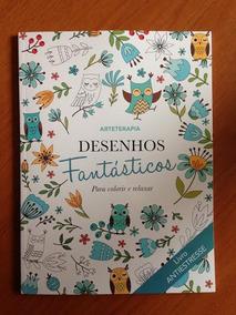 Livro Para Colorir - Desenhos Fantásticos
