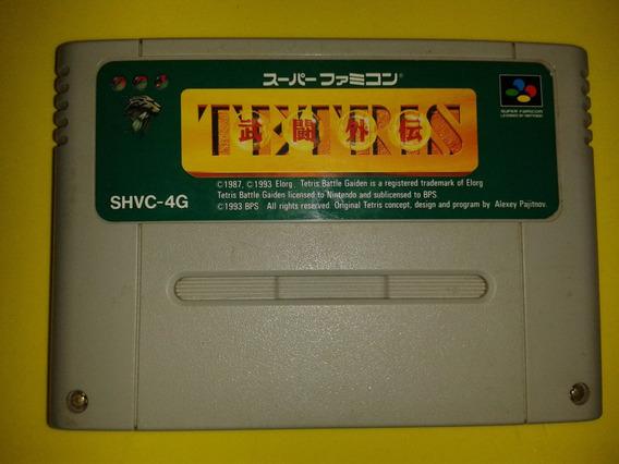 Tetris Battle Gaiden Para Super Nintendo Famicom Snes