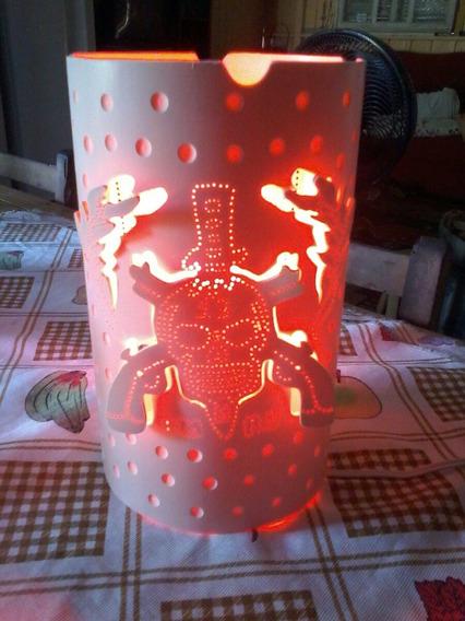 Luminária Abajur De Mesa Bi Volt