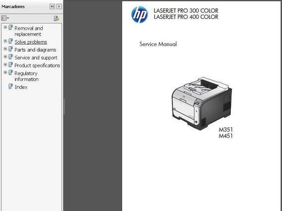 Service Manual Hp Officejet Laser Pro M351_m451