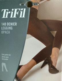 99864a126 Kit 2 Legging Cor Cinza Chumbo Fio 140 Trifil Tam G