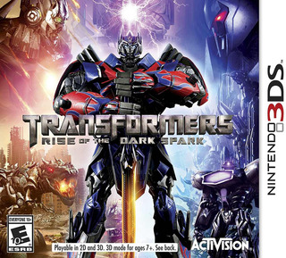 Transformers Rise Of The Dark Spark Nintendo 3ds