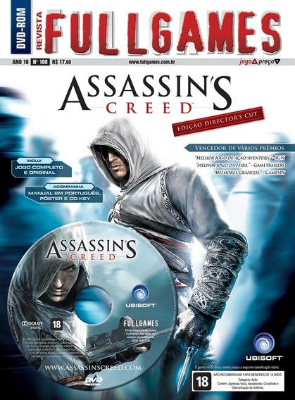 Assassins Creed I 1 Pc Original Mídia Física Fullgames 100