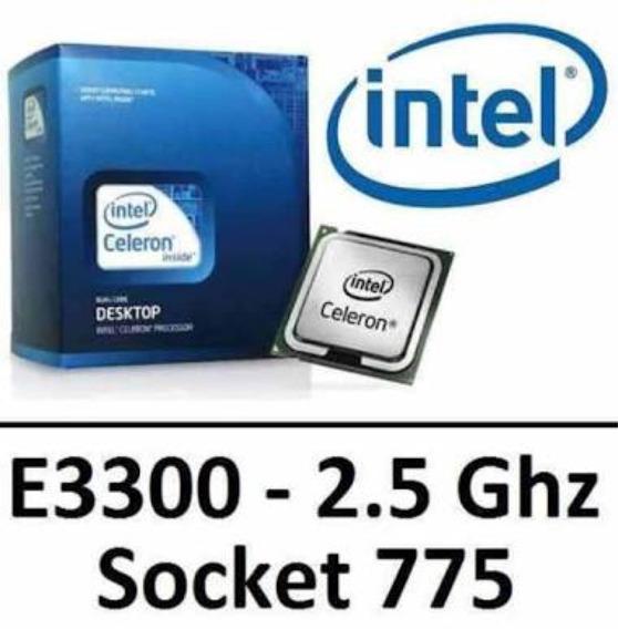 Processador Intel Celeron Dual Core E3300 Box