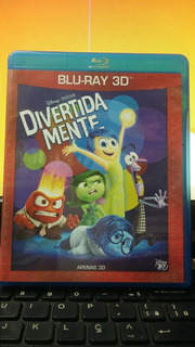 Blu-ray Divertida Mente 3d
