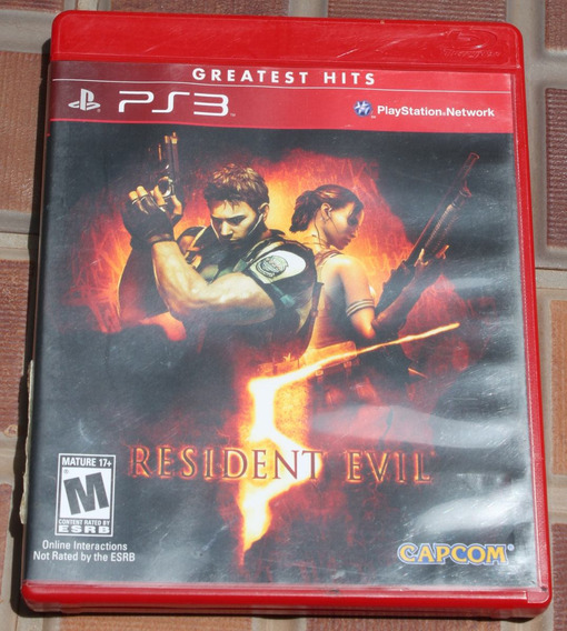 Resident Evil 5 Greatest Hits Ps3