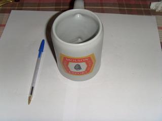 Antigua Vaso Shopero De Ceramica Lo Espejo