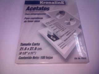 Acetatos (transparencias) Para Impresoras