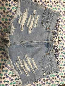 Short Jeans Feminino Desfiado