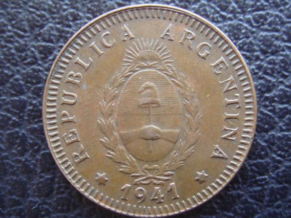 Argentina - Moneda De 2 Centavos, Año 1941 - Muy Bueno