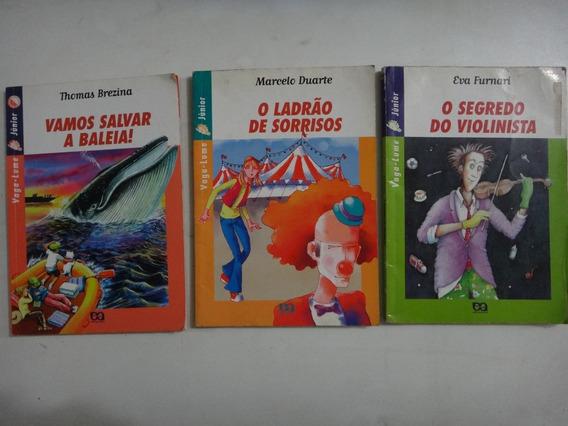 Coleção Atica 03 Livros Infanto Juvenil