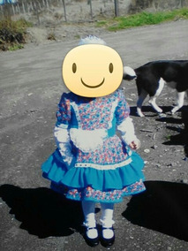 Vestido De Chinita Talla 6