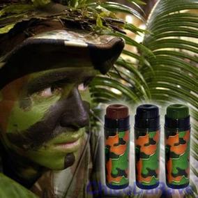 Kit Bastão De Camuflagem Yur Militar Airsoft Paintball