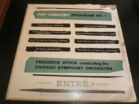 Lp Pop Concert Pogram Nº1, Frederick Stock, Disco Vinil