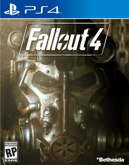 Fallout 4 - Mídia Física - Ps4 - Novo
