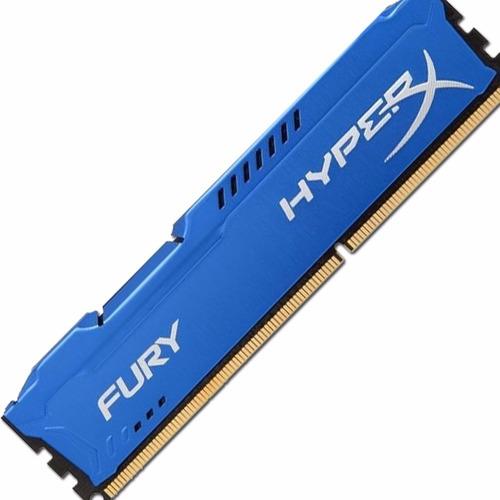 Memoria Kingston Hyperx Fury 8gb Ddr3 1600 Tienda Oficial