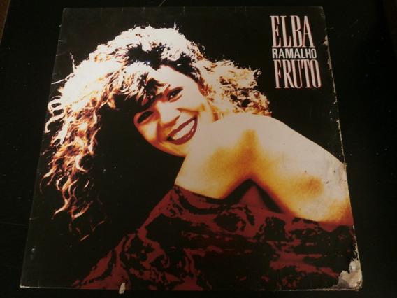Lp Elba Ramalho - Fruto, Disco Vinil, Ano 1988