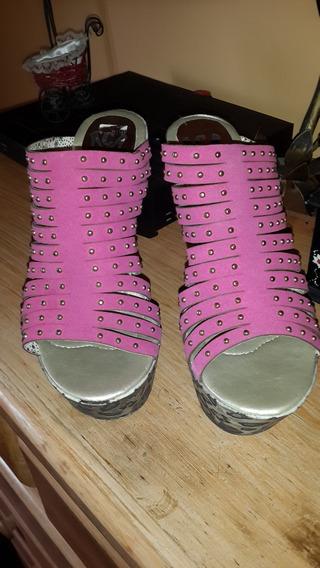Zapatos Altos Fuscia
