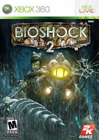 Bioshock 2 Box Jogo Para Xbox 360 Ntsc Mídia Física Lacrado
