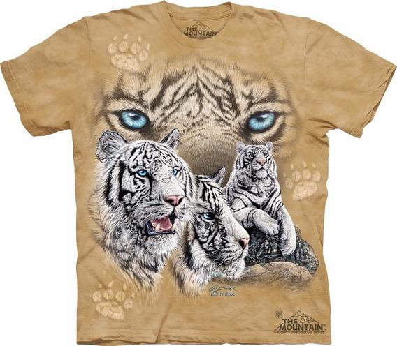 Playera 4d - Unisex Infantiles - 3462 Find 12 Tigers.
