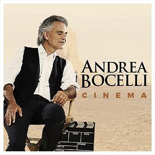 Cd Andrea Bocelli Cinema Deluxe Open Music U-