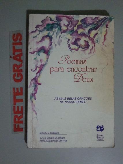 Livro Poemas Para Encontrar Deus
