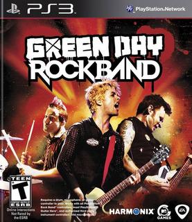 Green Day Rock Band Nuevo Sellado - Juego Fisico