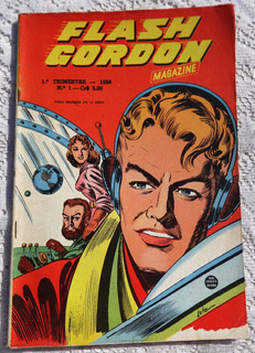 Flash Gordon Magazine Nº 1: Rocky Jones - Rio Gráfica - 1956