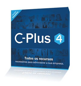 Software C-plus 4 Slim 1 Servidor C/ 1 Usuarios + Pdv + Xml