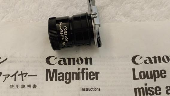 Lente Canon Magnifier S