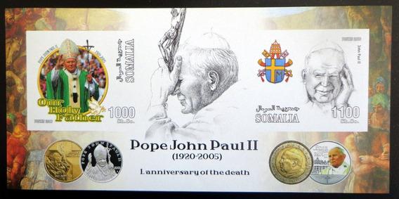 Somalía Juan Pablo Ii, Bloque 2 Sellos 2006 Mint L7473